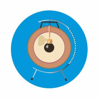 gongo del tam del tam en el soporte around.png azu escultura fotografica
