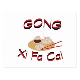 Gongo XI Fa Cai Postales