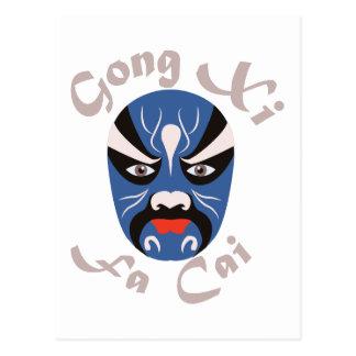 Gongo XI Fa Cai Postal