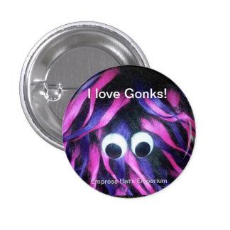 ¡Gonks botón insignia de la novedad Pins