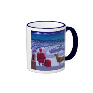 Gonna be a long night. ringer coffee mug