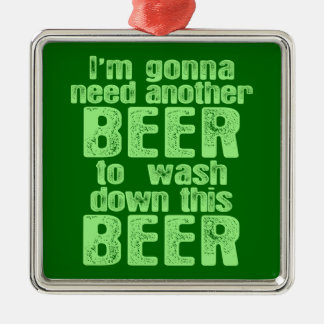 Gonna Need Another Beer Ornaments