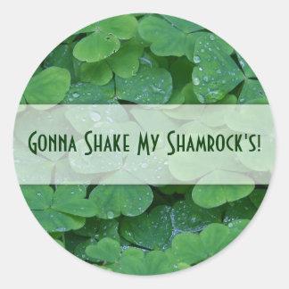 Gonna Shake My Shamrocks! Stickers