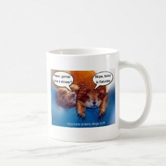 Gonna take a shower? coffee mug