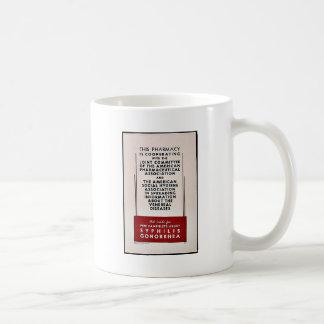 Gonorrea de la sífilis tazas de café