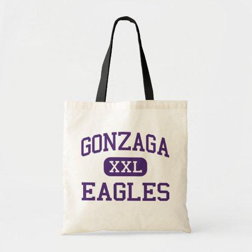Gonzaga - Eagles - College - Washington Budget Tote Bag