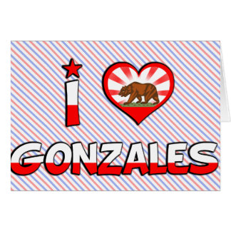 Gonzales, CA Greeting Card