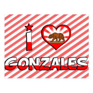 Gonzales, CA Postcard