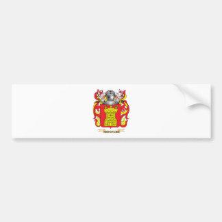Gonzales Coat of Arms (Family Crest) Car Bumper Sticker