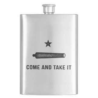 Gonzales Come and Take It Flasks