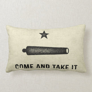 Gonzales Flag Lumbar Pillow