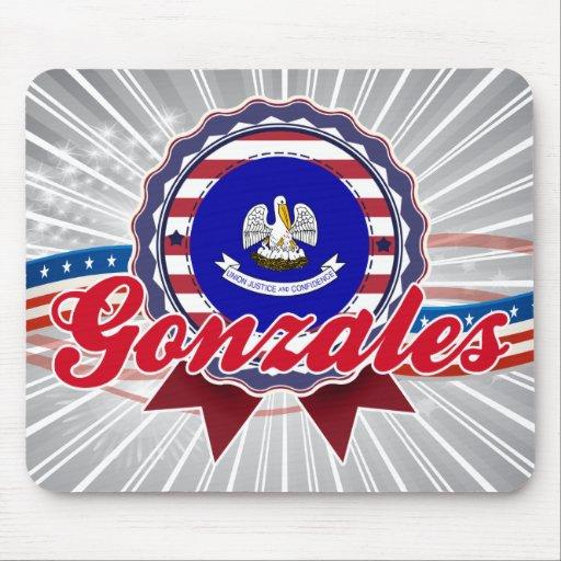 Gonzales, LA Mouse Pad