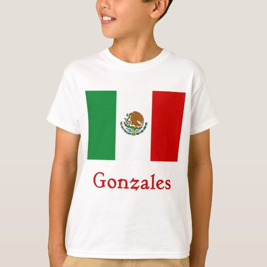 Gonzales Mexican Flag T-Shirt