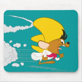 Gonzales rápido que corre en color alfombrillas de ratón