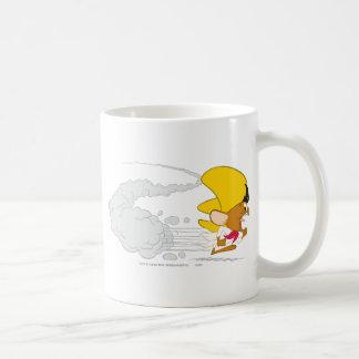 Gonzales rápido que corre en color taza de café