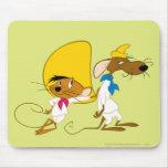 Gonzales rápido y amigo alfombrillas de ratones