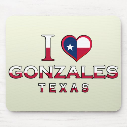 Gonzales, Texas Mouse Pad