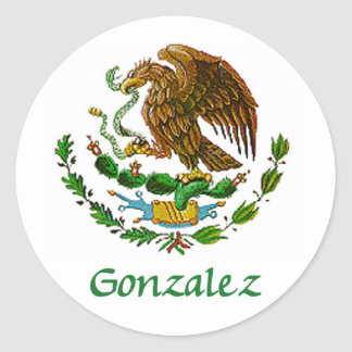 Gonzalez Mexican National Seal