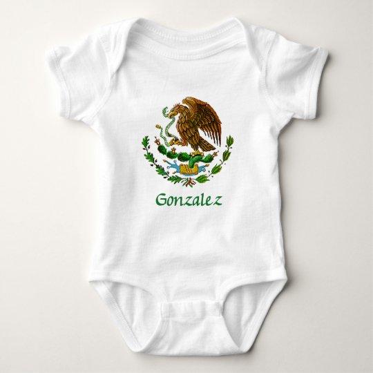 Gonzalez Mexican National Seal Baby Bodysuit