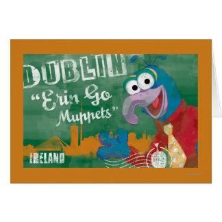 Gonzo - Dublin, Ireland Poster Card