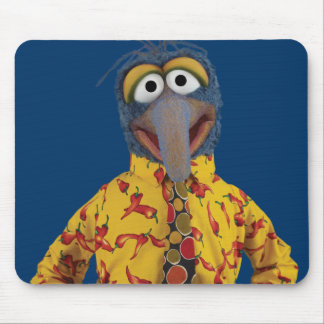Gonzo in silly clothes mouse pad