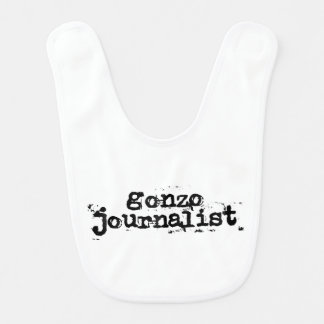 Gonzo Journalist Baby Bib