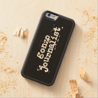 Gonzo Journalist Carved Maple iPhone 6 Bumper Case