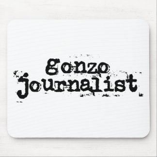 Gonzo Journalist Mouse Pad