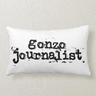 Gonzo Journalist Throw Pillow