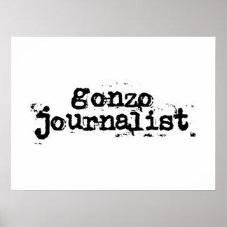 Gonzo Journalist Poster