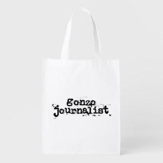 Gonzo Journalist Reusable Grocery Bag