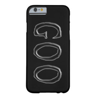 Goo | Clear See Through Gel Font | Customizable Barely There iPhone 6 Case
