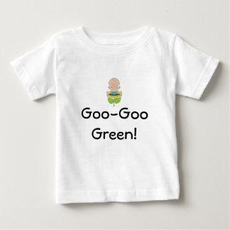 Goo-Goo Green! boy Baby T-Shirt