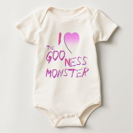 Goo Ness Me I Love the Goo Ness Monster Bodysuit