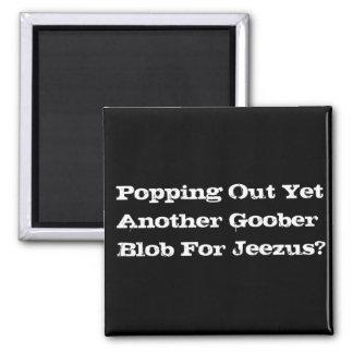 Goober Blob 2 Inch Square Magnet