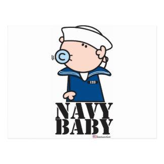 Goochicoo - bebé de la marina de guerra postales