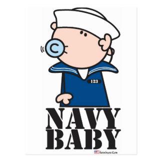 Goochicoo - bebé de la marina de guerra tarjeta postal