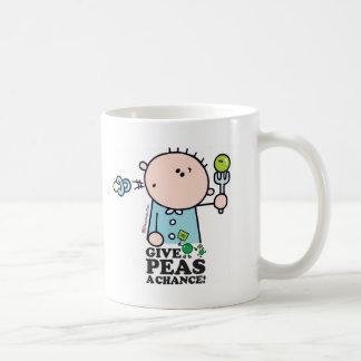 GoochiCoo - Give Peas A Chance Coffee Mug