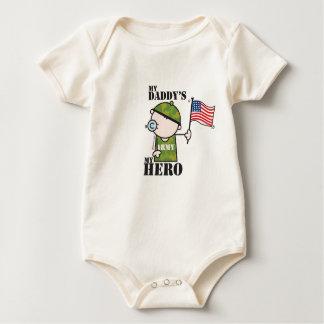 Goochicoo - MY DADDY's MY HERO Baby Bodysuit