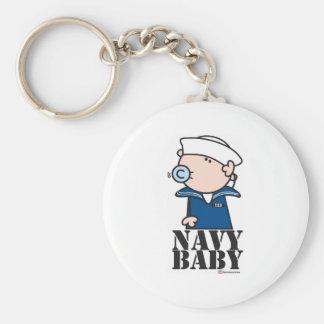Goochicoo - Navy Baby Keychain