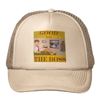 Good 2b the Boss Trucker Hat