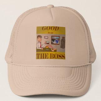 Good 2b the Boss Trucker Hat