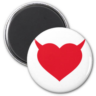 good and bad heart magnet