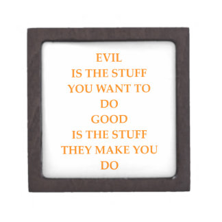 good and evil jewelry box