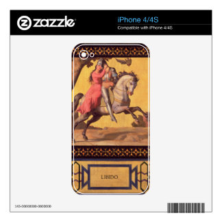 Good and Evil: Libido, 1832 (detail of 89709) (oil Decal For iPhone 4