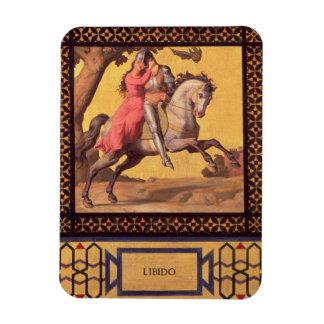 Good and Evil: Libido, 1832 (detail of 89709) (oil Vinyl Magnet