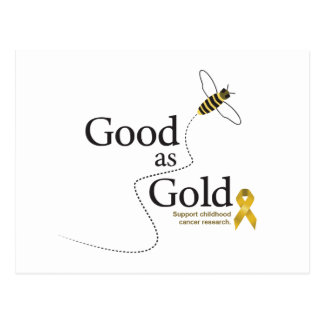 Good as Gold Postcard