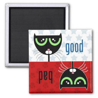 Good / Bad Cat - Magnet