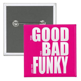Good Bad Funky Movie Parody Button