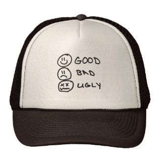 Good Bad Ugly Cap Trucker Hat